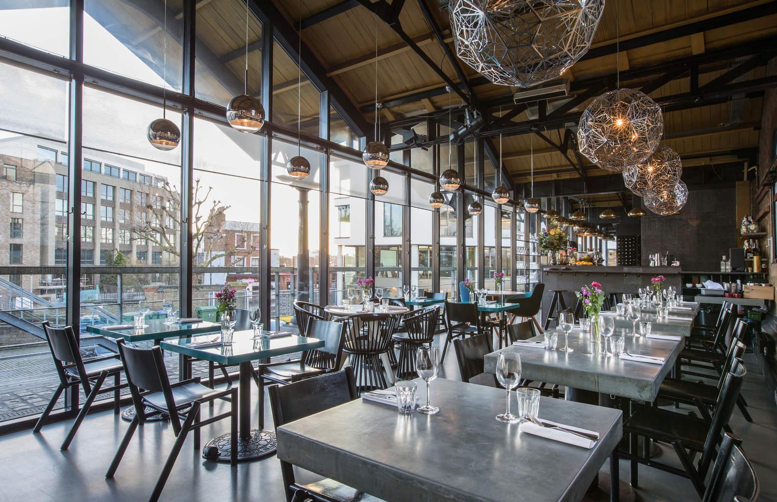 London Restaurant Dock Kitchen